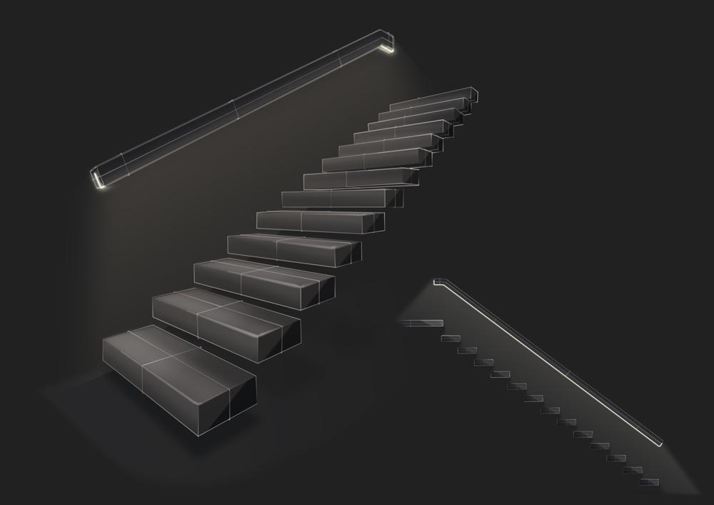MENTOR_Lichtloesungen_Design_Stairs